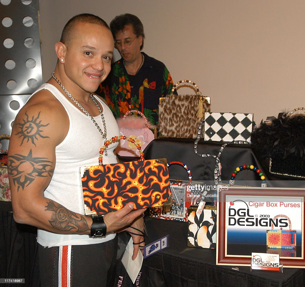 Rey Mysterio during 2003 Spike TV Video Game Awards - Backstage Creations Gift Bags Presentation at The MGM Grand Hotel And Casino Resort in Las Vegas, Nevada.