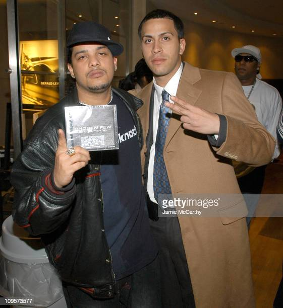 Reychester of Tres Coronas and Boy Wonder during Freedom Girls and Reggaeton Artists Support the Launch of 'Chosen Few El Documental' and Urban Box...