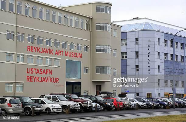 Reykjavik Art Museum next to Grofarhus