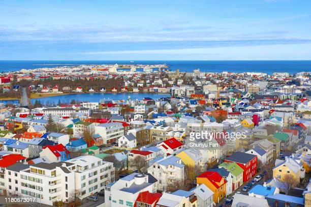 reykjavik iceland - reykjavik stock pictures, royalty-free photos & images