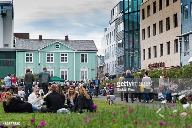 reykjavik - iceland - reykjavik stock pictures, royalty-free photos & images