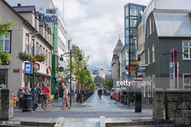 Reykjavik-Hauptstraße