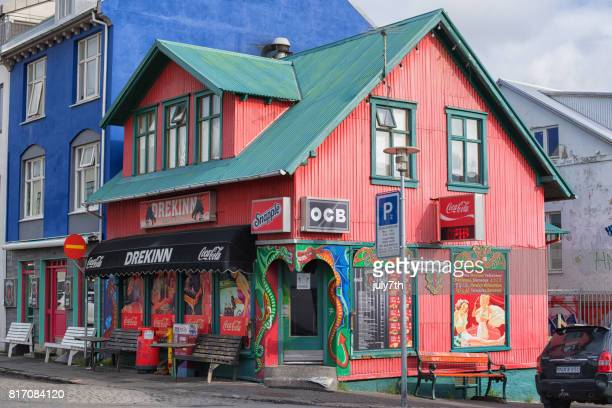 Reykjavik Street Gebäude