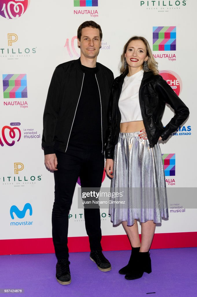 Reyko music band attend 'La Noche De Cadena 100' charity concert at WiZink Center on March 24, 2018 in Madrid, Spain.