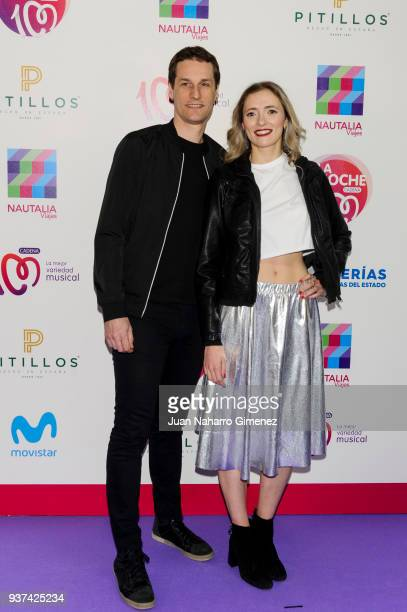 Reyko music band attend 'La Noche De Cadena 100' charity concert at WiZink Center on March 24 2018 in Madrid Spain