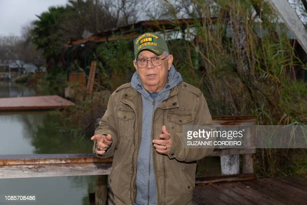 Reynaldo Anzaldua a cousin of the Cavazos family speaks on his family's property in Mission Texas on January 15 2019 After all who would want to come...