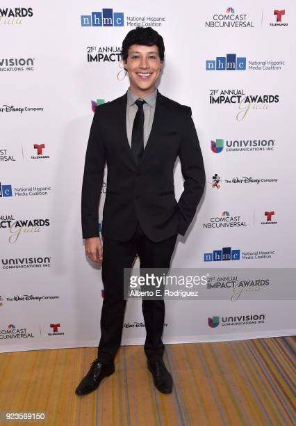 Reynaldo Pacheco attends the 21st annual NHMC Impact Awards Gala at Regent Beverly Wilshire Hotel on February 23 2018 in Beverly Hills California