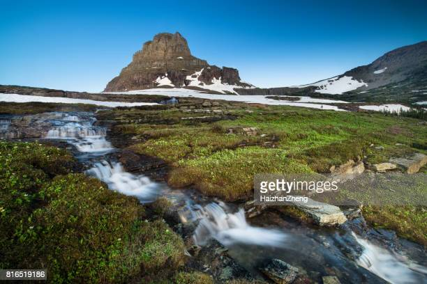 Reynolds Mountain at Logan Pass, Glacier National Park