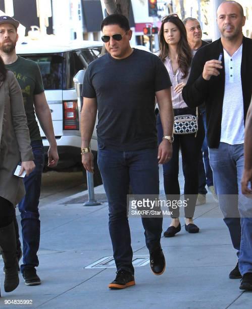 Reza Farahan is seen on January 13 2018 in Los Angeles CA