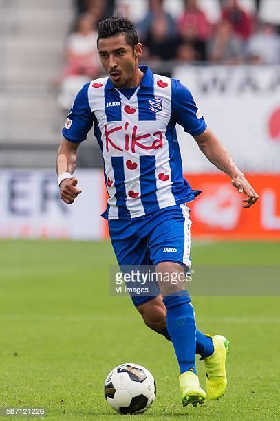 Reza Ghoochannejhad of sc Heerenveen during the Dutch Eredivisie match between AZ and SC Heerenveen on august 7 2016 at the AFAS stadion in Alkmaar...