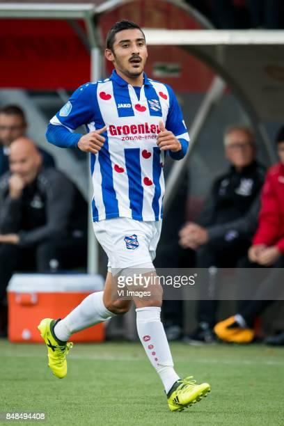 Reza Ghoochannejhad of sc Heerenveen during the Dutch Eredivisie match between sbv Excelsior Rotterdam and sc Heerenveen at Van Donge De Roo stadium...