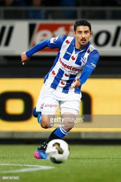 Reza Ghoochannejhad of sc Heerenveenduring the Dutch Eredivisie match between sbv Excelsior Rotterdam and sc Heerenveen at Woudenstein stadium on...