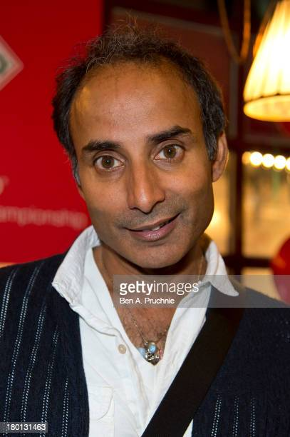 Reza Mahammad attends the Tabasco British Oyster Opening Championships held in J Sheekey Oyster Bar in Covent Garden on September 9 2013 in London...