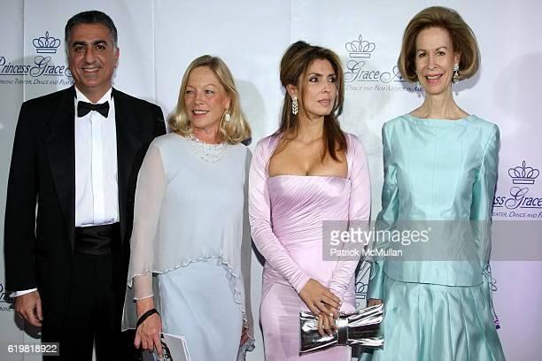 Reza Pahlavi Princess Yasmine Pahlavi Bonnie McElveenHunter and Ambassador Gilles Noghes attend The Princess Grace Award Gala 2008 at Cipriani 42nd...