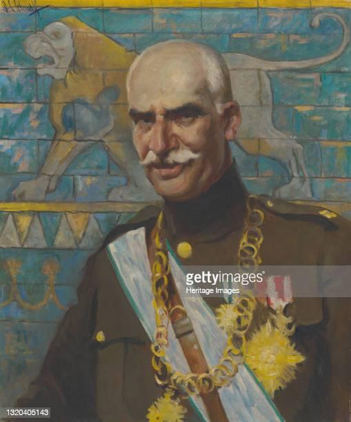 Reza Shah Pahlavi, 1938. Artist Samuel Johnson Woolf.