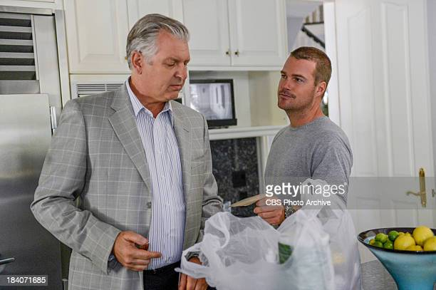 """Reznikov N """" Pictured Vyto Ruginis and Chris O'Donnell The NCIS LA team finds themselves in danger while investigating a kidnapping case of a man..."""