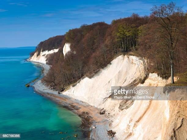 Rügen Island Chalk Cliffs Jasmund National Park (Kreidefelsen)
