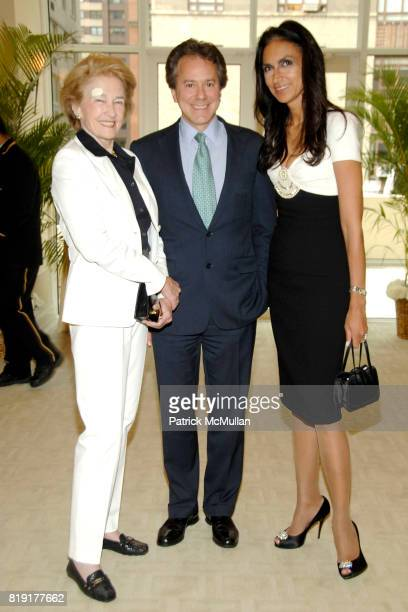 Rhatyn Will Zeckendorf and Susan FalesHill attend Susan FalesHill's ONE FLIGHT UP Book Launch Party at 15 Central Park West on July 21st 2010 in New...