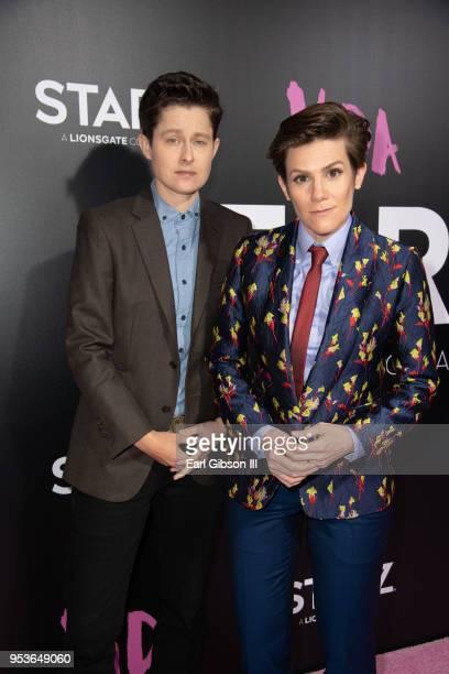 Rhea Butcher and Cameron Esposito attend Starz Vida Premiere at Regal LA Live Stadium 14 on May 1 2018 in Los Angeles California