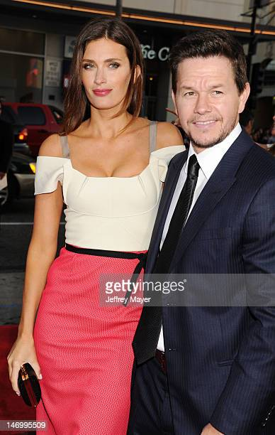 Rhea Durham and Actor Mark Wahlberg attend the 'Ted' World Premiere held at Grauman's Chinese Theatre on June 21 2012 in Hollywood California