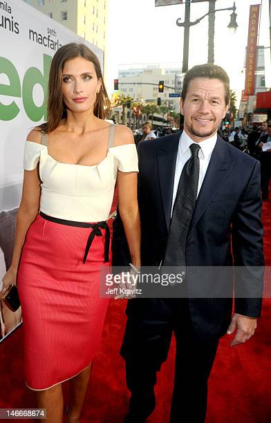 Rhea Durham and Mark Wahlberg arrive for the premiere of 'Ted' at Grauman's Chinese Theatre on June 21 2012 in Hollywood California