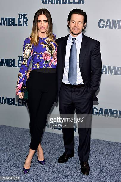 Rhea Durham and Mark Wahlberg attend The Gambler New York Premiere at AMC Lincoln Square Theater on December 10 2014 in New York City