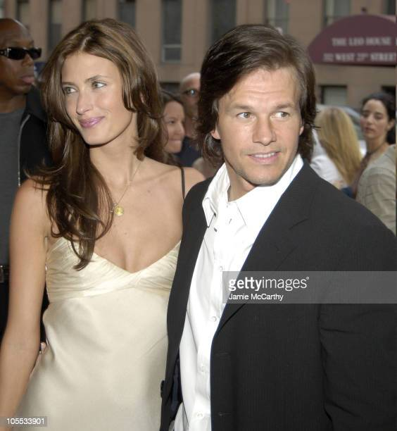 Rhea Durham and Mark Wahlberg during Four Brothers New York City Premiere Inside Arrivals at Clearview's Chelsea West Cinemas in New York City New...