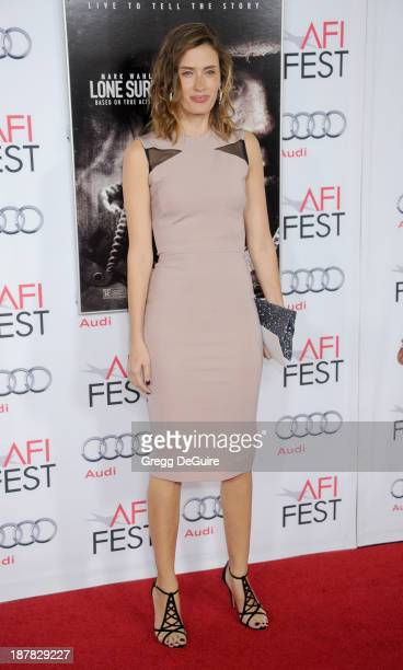 Rhea Durham arrives at the AFI FEST 2013 for the Lone Survivor premiere at TCL Chinese Theatre on November 12 2013 in Hollywood California