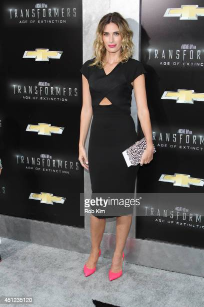 Rhea Durham attends Transformers Age Of Extinction New York Premiere at Ziegfeld Theater on June 25 2014 in New York City