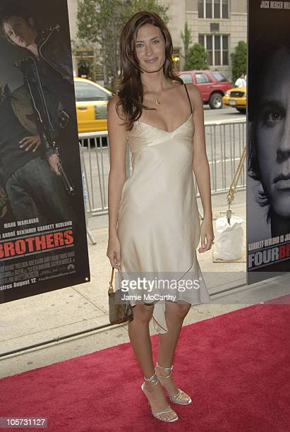 Rhea Durham during Four Brothers New York City Premiere Inside Arrivals at Clearview's Chelsea West Cinemas in New York City New York United States