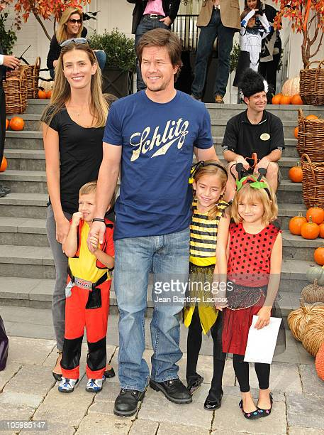 Rhea Durham Michael Wahlberg Mark Wahlberg and Ella Rae Wahlberg attend the Pottery Barn Kids' Halloween Carnival benefitting Operation Smile at a...