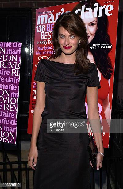 Rhea Durham Revlon Cover Girl during Revlon Marie Claire host Girls Night Out at Cherry at W New York The Tuscany in New York City New York United...