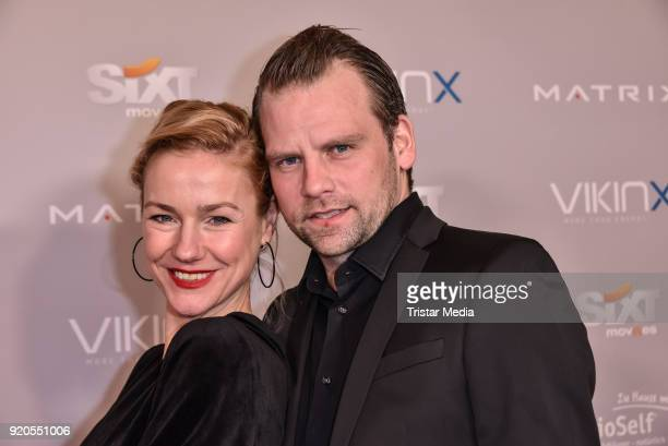 Rhea Harder and her husband Joerg Vennewald attend Movie Meets Media 2018 on February 18 2018 in Berlin Germany