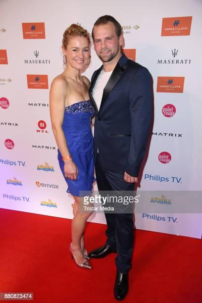 Rhea Harder and her husband Joern Vennewald attend the Movie Meets Media event 2017 at Hotel Atlantic Kempinski on November 27 2017 in Hamburg Germany