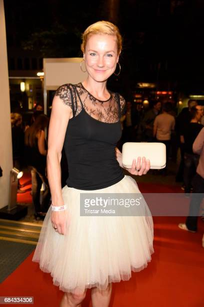 Rhea Harder attends the 25th anniversary party of the TV show 'GZSZ' on May 17 2017 in Berlin Germany