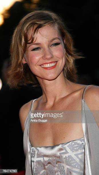 Rhea Harder attends the 7th Reminders Day Aids Gala at the Berlin city hall September 1 2007 in Berlin Germany