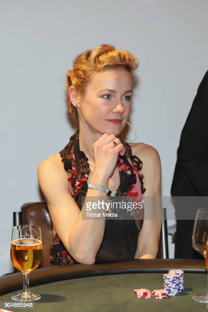 Rhea Harder attends the 'Ahoi 2018 The special kind of New Year's Reception on January 13 2018 in Hamburg Germany