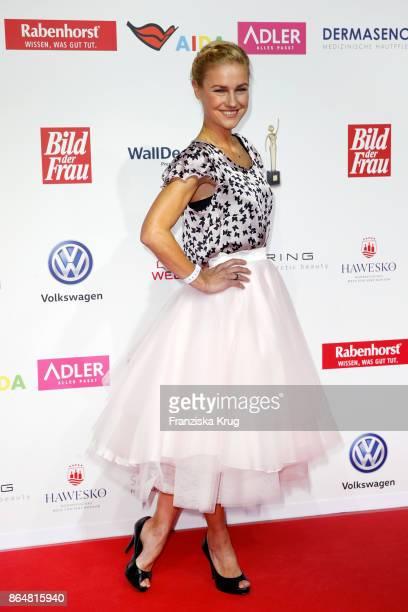 Rhea Harder attends the 'Goldene Bild der Frau' award at Hamburg Cruise Center on October 21 2017 in Hamburg Germany