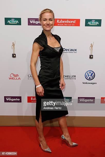 Rhea Harder attends the 'Goldene Bild der Frau' award at Stage Theater on October 13 2016 in Hamburg Germany