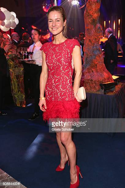 Rhea Harder during the after show party of the Goldene Kamera 2016 on February 6 2016 in Hamburg Germany