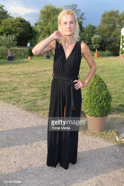 Rhea Harder during the Glow Glory Charity Dinner by Cornelia Poletto at Erdbeerhof Glantz on August 10 2018 in Hamburg Germany