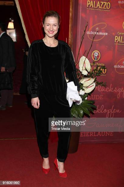 Rhea Harder during the Poletto Palazzo Charity Event on February 8 2018 in Hamburg Germany
