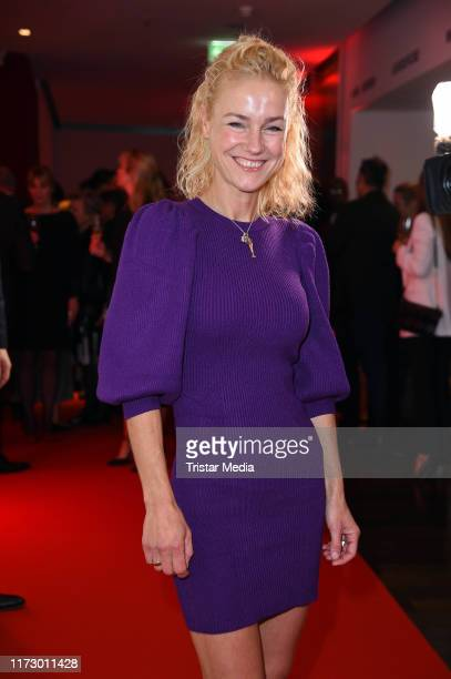 Rhea HarderVennewald attends the 'Helden des Alltags' Gala at Theater Kehrwieder on October 1 2019 in Hamburg Germany