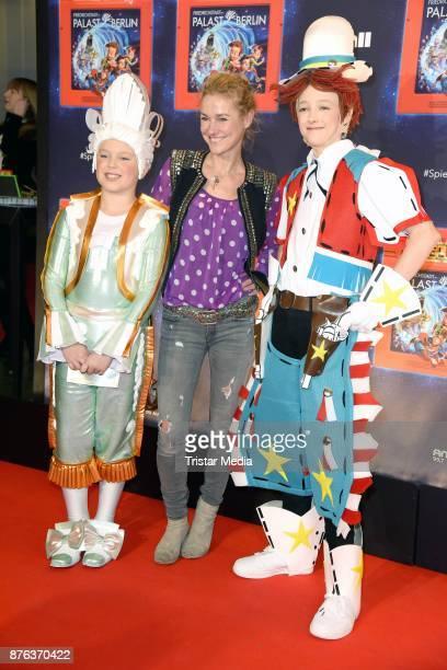 Rhea HarderVennewald attends the premiere of the children's show 'Spiel mit der Zeit' at Friedrichstadtpalast on November 19 2017 in Berlin Germany