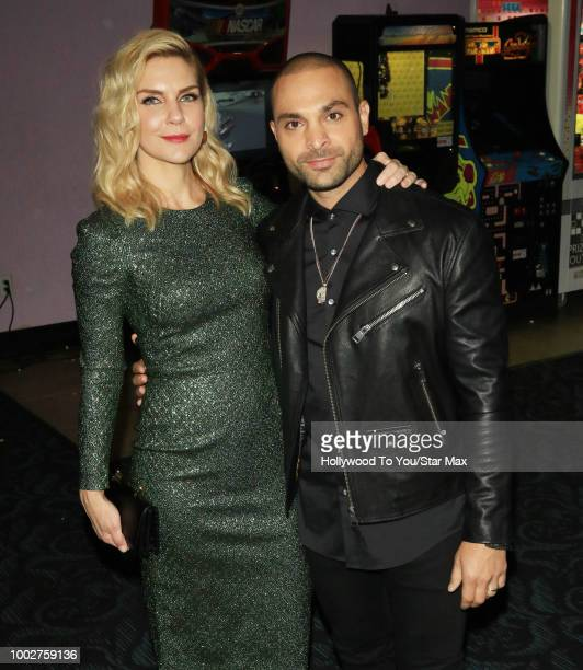 Rhea Seehorn and Michael Mando are seen on July 19 2018 at ComicCon in San Diego CA