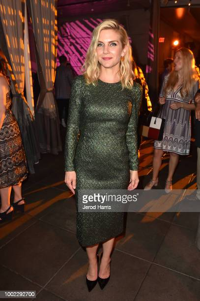 Rhea Seehorn attends AMC's 'Better Call Saul' Season 4 Premiere After Party during ComicCon International 2018 at UA Horton Plaza 8 on July 19 2018...