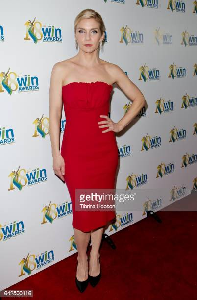 Rhea Seehorn attends the 18th Annual Women's Image Awards at Skirball Cultural Center on February 17 2017 in Los Angeles California