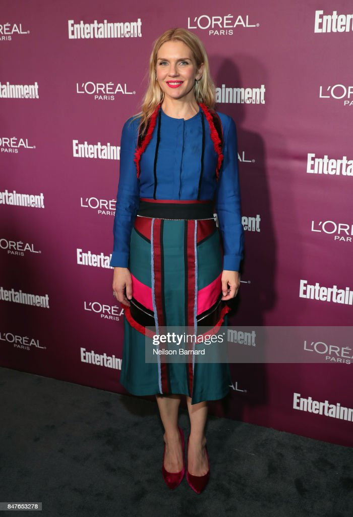 Rhea Seehorn attends the 2017 Entertainment Weekly Pre-Emmy Party at Sunset Tower on September 15, 2017 in West Hollywood, California.