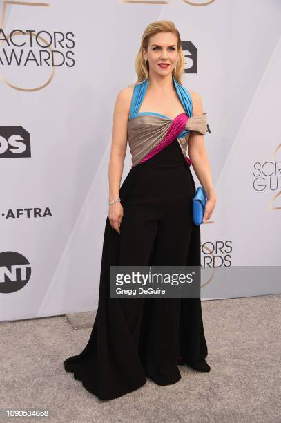 Rhea Seehorn attends the 25th Annual Screen ActorsGuild Awards at The Shrine Auditorium on January 27 2019 in Los Angeles California 480645