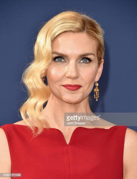 Rhea Seehorn attends the 70th Emmy Awards at Microsoft Theater on September 17 2018 in Los Angeles California